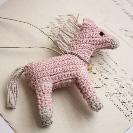 馬チャーム 編みぐるみ パワーストーン