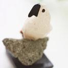 天然石鳥カルセドニー