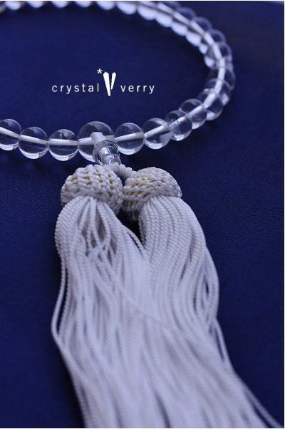 天然水晶 10mm jyuzu 数珠