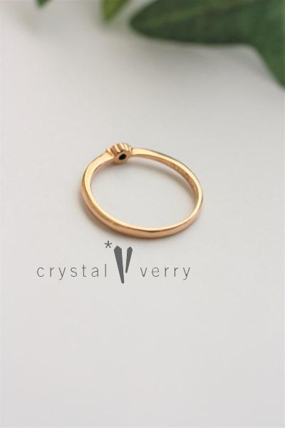 ダイヤモンド ピンクゴールド 天然石 パワーストーン 指輪 リング