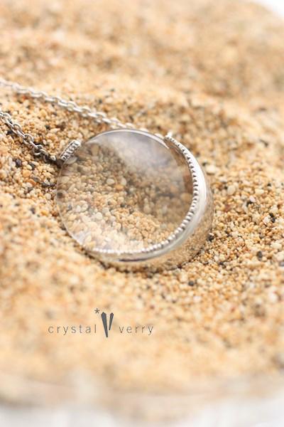 満月 三日月 水晶 パワーストーン シルバー アクセサリー