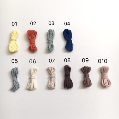 大 色見本 毛糸 編みぐるみ 馬