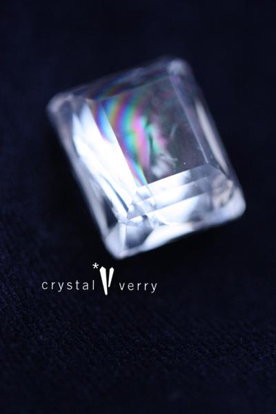 虹入り水晶 レインボー水晶 ルース オーダーメイド