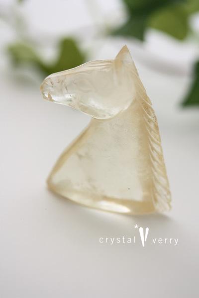 シトリン 馬 パワーストーン 天然石